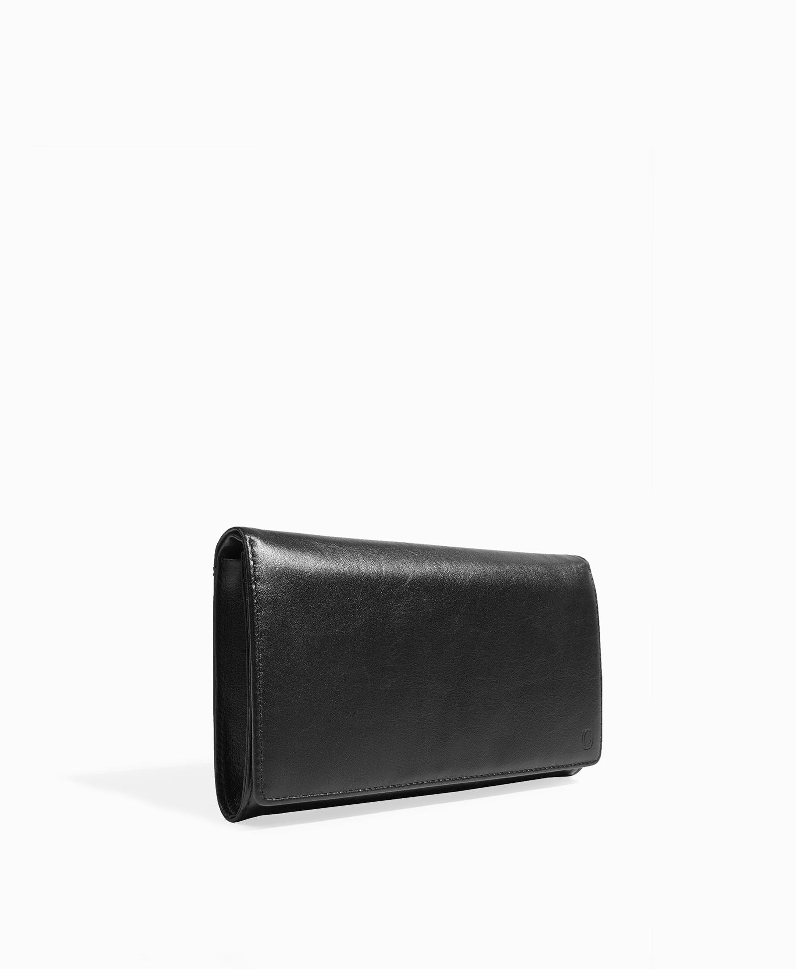 1f3359586e56 Бизнес-клатч 100% натуральная кожа, пол: Мужской, цвет: Черный, размер:  205*125. Купить в интернет-магазине ASKENT. Цена 3 590 руб.